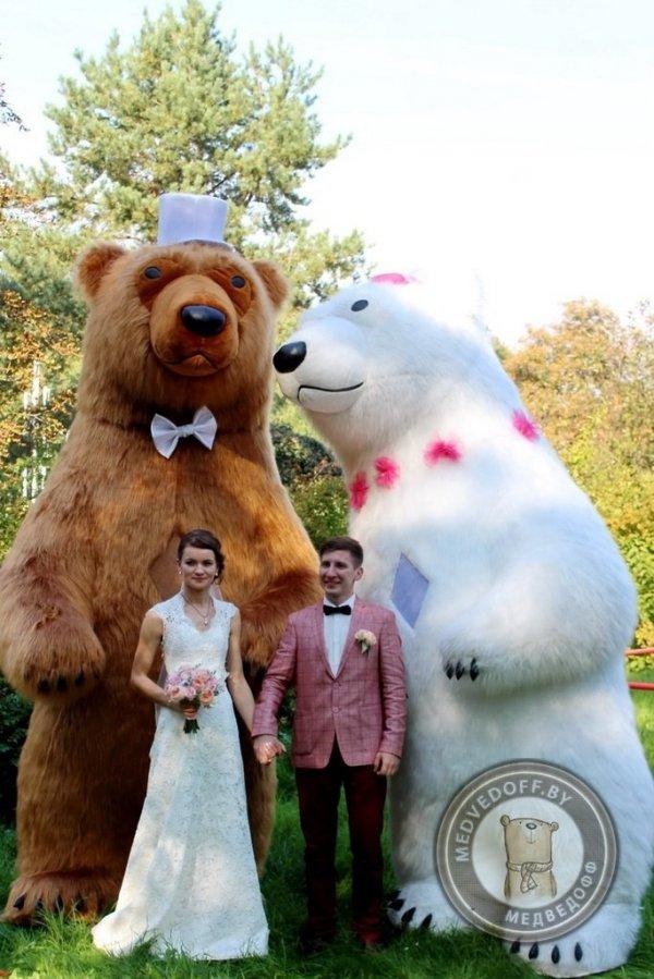 Шоу танцующих медведей